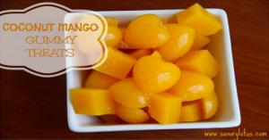 Coconut Mango Gummies
