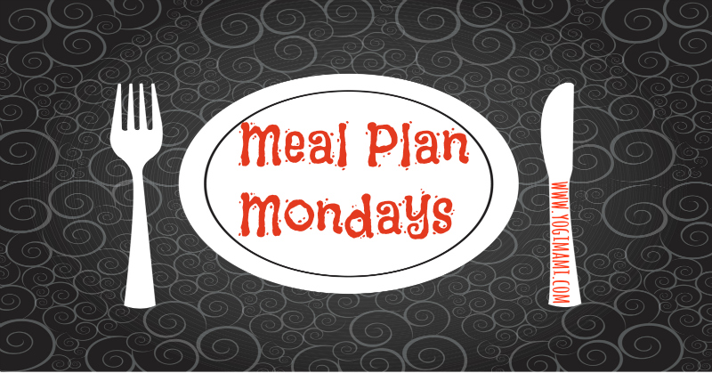 Meal Plan Menu
