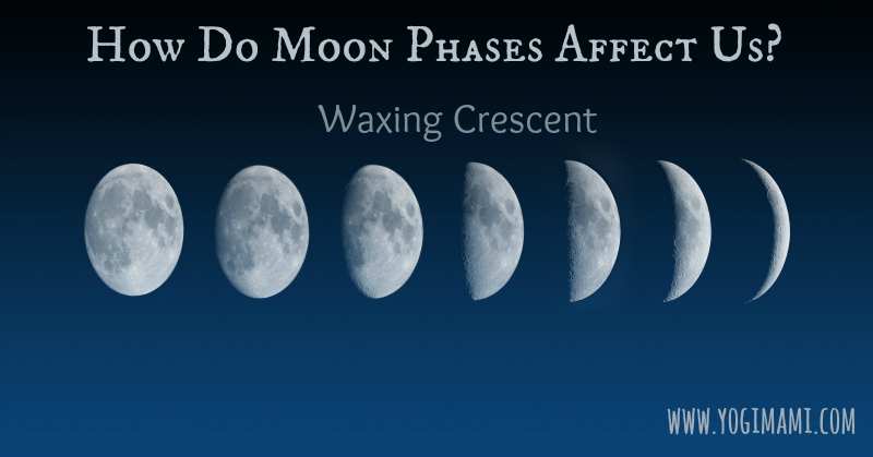 Waxing Crescent Moon Affects