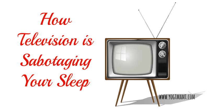 Television affects sleep