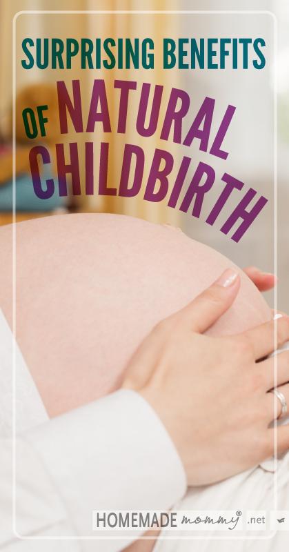 Natural Birth Benefits
