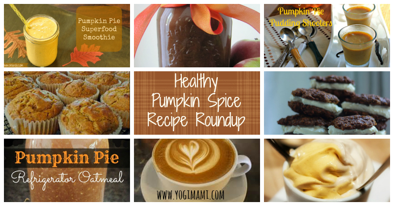 Healthy Pumpkin Spice Recipe Roundup
