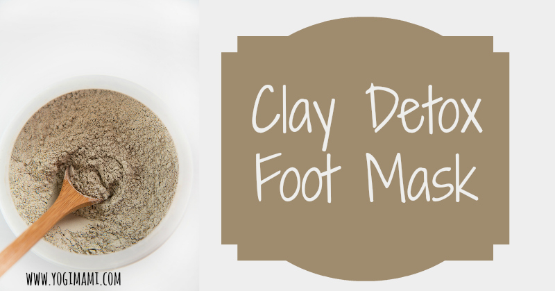 Detox Clay Foot Mask Yogi Mami Victoria Moore